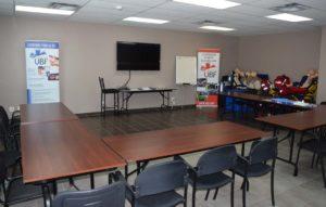 Installations service de formation Urgence Bois-Francs - Salle de conférence (02)