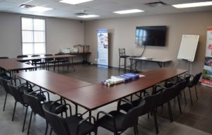 Installations service de formation Urgence Bois-Francs - Salle de conférence