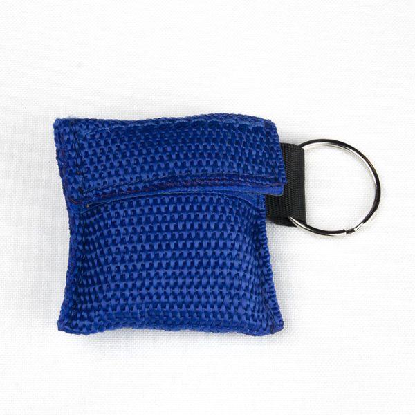 Porte-clés - Protection faciale (bleu)