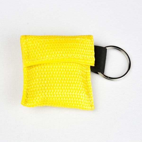 Porte-clés - Protection faciale (jaune)