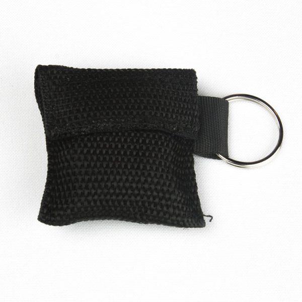 Porte-clés - Protection faciale (noir)
