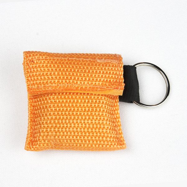 Porte-clés - Protection faciale (orange)
