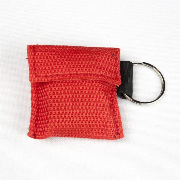 Porte-clés - Protection faciale (rouge)