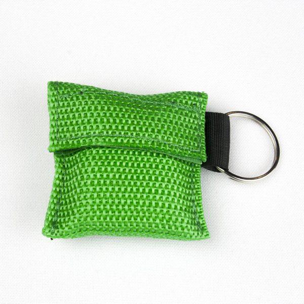 Porte-clés - Protection faciale (vert)