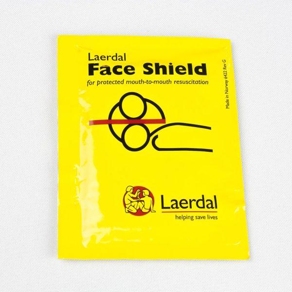 Protection faciale pour bouche à bouche